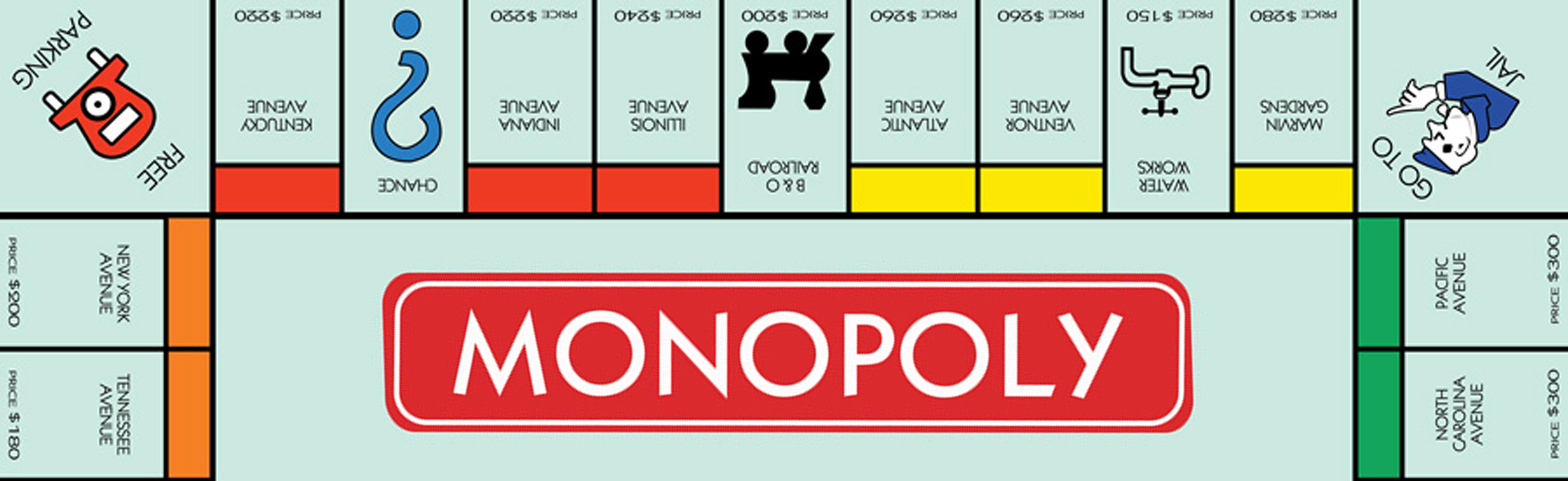 Monopoly Board Pub Crawl  Raiders of the Lost Pubs